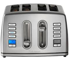 Asda Toasters Buy Cuisinart Cpt445u 4 Slice Toaster Stainless Steel Free