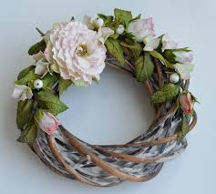 decorative wreaths for the home wedding decor wreath of rattan decorative wreath house beautiful