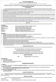 Best Project Manager Resume Manager Resume Template U2013 15 Free Samples Examples Format