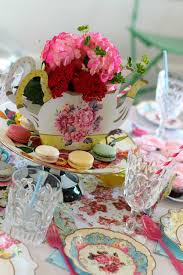 tea party table for the of character tea party table settings fit for a