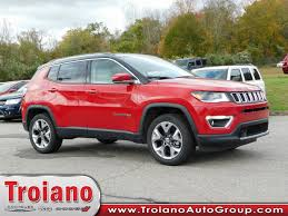 jeep compass limited red new 2018 jeep compass limited sport utility in colchester j8332