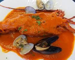 recette homard à l américaine avec légumes et fumet de poisson