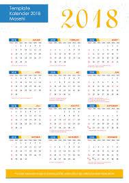 Kalender 2018 Hari Libur Indonesia Percetakan Xfour Cetakxfour
