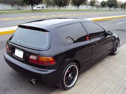 custom honda hatchback 92 civic http wwwtodoautoscompe f38 honda civic hatchback 92 a