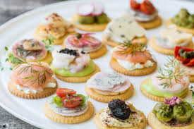 and easy canapes easy ritz cracker canapés the view from great island