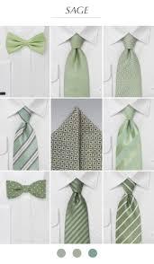 Sage Green Groomsmen Ties Pocket Squares In Sage Green All Things