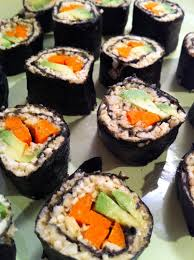 Raw Food Dinner Ideas Best 25 Raw Sushi Ideas On Pinterest Vegan Sushi Nori Sushi