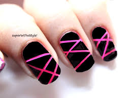 neon laser stylish nail art designs easy nail designs tutorial
