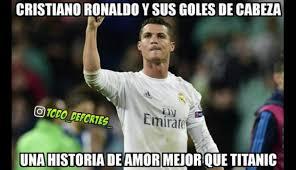 Memes De Cristiano Ronaldo - real madrid vs valencia cristiano ronaldo protagoniza memes foto