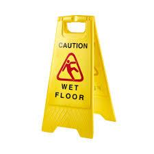 Wet Floor Images by Wet Floor Sign