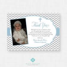 Invitation Card Design Christening Printable Baptism Thank You Card Diy Printable Thank You
