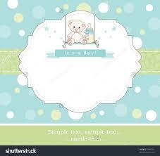 baby boy shower invitation vertabox com