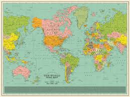 world map world song map a detailed poster that imagines the world map made