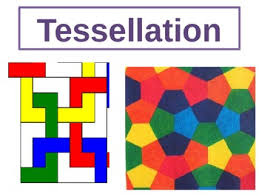 a maths lesson about tessellation but linked with art to add