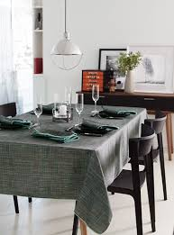 tablecloths shop for table linens online in canada simons urban weave printed tablecloth