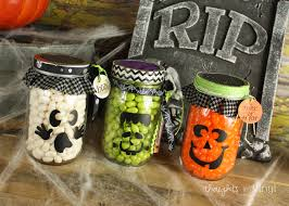 Halloween Candy Jars by Interchangeable Home Letters Thoughts In Vinyl