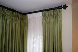 Curtains Corner Windows Ideas Awesome Corner Curtain Rods Buy Corner Window Curtain Rods Curtain