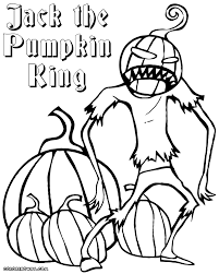 jack pumpkin king coloring pages coloring pages download