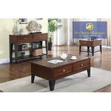 Coffee And End Table Sets Fw138 Coffee End And Sofa Table Best Master Furniture