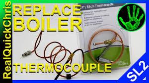 utica gas boiler pilot light how to change the thermocouple on a boiler and how to light a pilot
