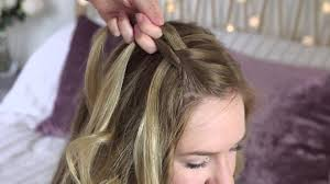 bridesmaid braid style tutorial for long hair by zoella