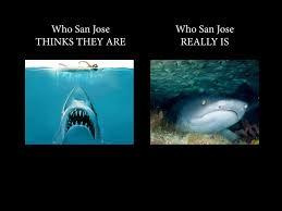 San Jose Sharks Meme - san jose expectations vs reality penguins