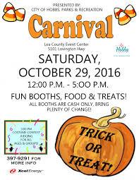 halloween carnival hobbs events