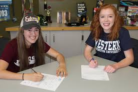 Do Division 3 Schools Sign Letters Of Intent by Two Lady Hawks Sign Letters Of Intent To Run In College Mltnews Com