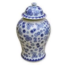 white ginger jar l blue and white ginger jar on backorder call for availability