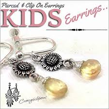 clip on earrings for kids clip on earrings for kids