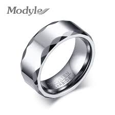 aliexpress buy modyle new fashion tungsten ring white mens