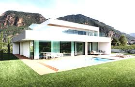 a cool beachfront villa with geometric architecture 1 architect
