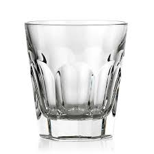 Luxury Desk Accessories For Men by Baccarat Harcourt Crystal Double Old Fashioned Baccarat Crystal