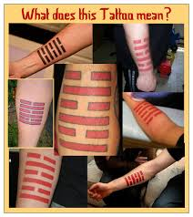 tattoos meaning triangulations
