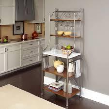 storage furniture for kitchen kitchen wire bakers racks chrome kitchen racks wooden outdoor