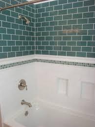 bathroom beveled subway tile shower subway tile backsplash