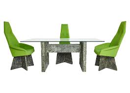 Dining Chairs Sets Side And Arm Chairs Brutalist Dining Set By Adrian Pearsall Adrian Pearsall Glass