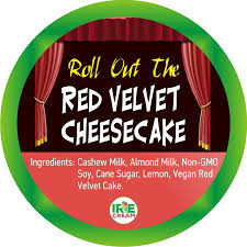 roll out the red velvet cheesecake irie cream half pint dajen eats