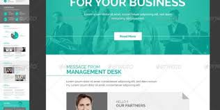corporate e newsletter templatekalanidhithemes graphicriver with