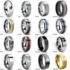 mens wedding ring sizes mens tungsten carbide promise ring various style wedding band size