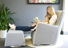 Baby Glider And Ottoman Set Nursery Glider With Ottoman Modern Rocking Chair Baby Room Baby