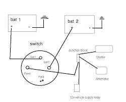 billavista u0027s dual battery setup
