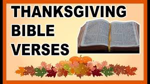 8 thanksgiving bible verses that will make your happy
