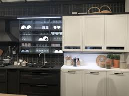 two tone kitchen cabinets with black countertops stylish combo ideas for two tone kitchen cabinets