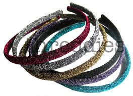 glitter headbands 7 best threddies glitter headbands images on glitter