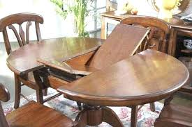 round wood table with leaf round kitchen table with leaf round drop leaf table leaf insert