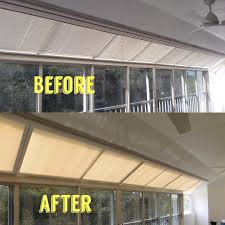 lanai skylight continuous window transformation we removed all of