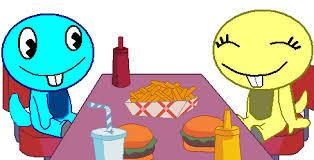 evil lunch fanon wiki fandom powered by wikia flippin burgers rex version happy tree friends fanon wiki