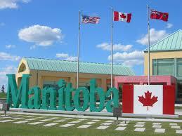 Manitoba Flag Manitoba Welcome Center Mb 75 At Emerson Manitoba Flickr