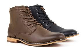 groupon s boots s plain toe dress boots groupon goods